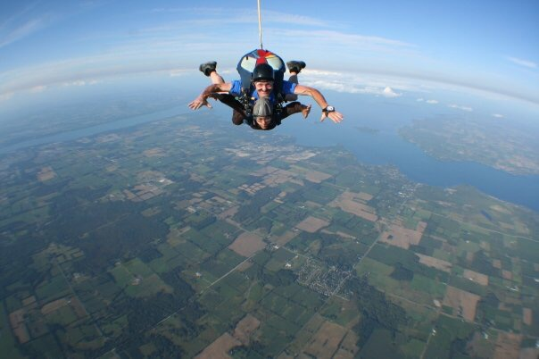 Say yes to new adventures … Leadership insights from skydiving!